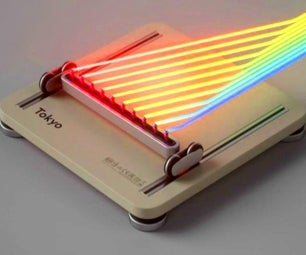 Real-life Laser Plate