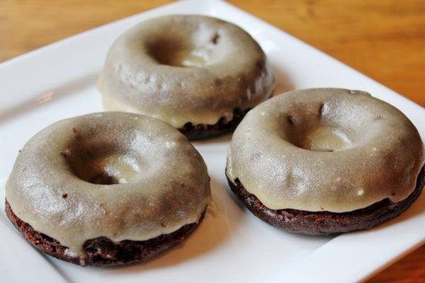 Old Fashioned Glazed Chocolate Donuts (gluten Free)