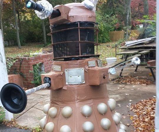 Dalek Costume Halloween 2014