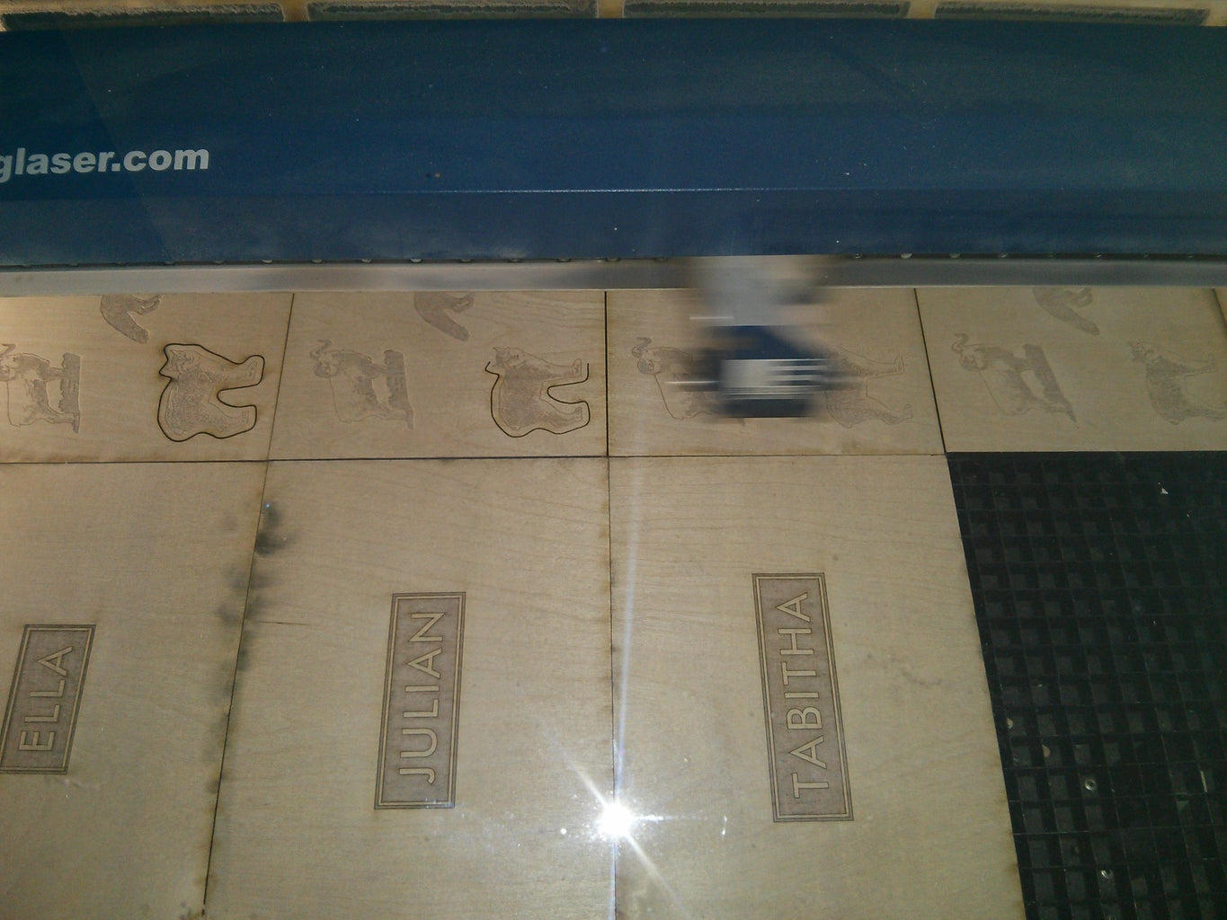 Laser Cutting and Etching