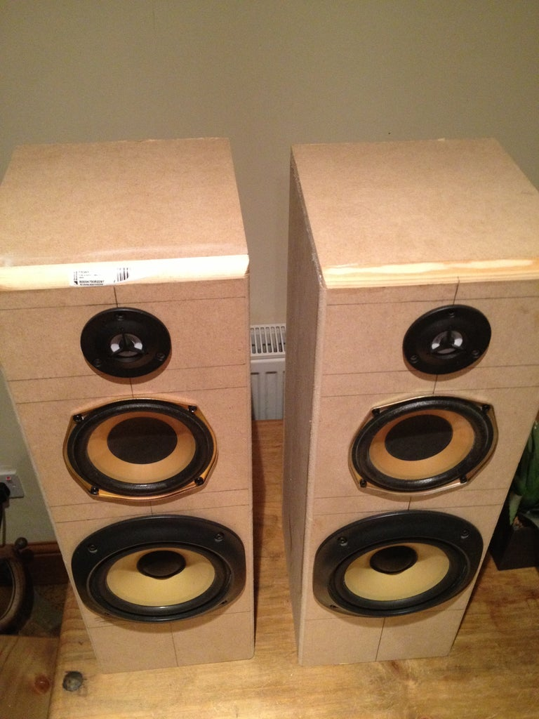 Assembly - Tower Speakers