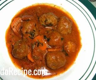 Italian Meatballs - My Style