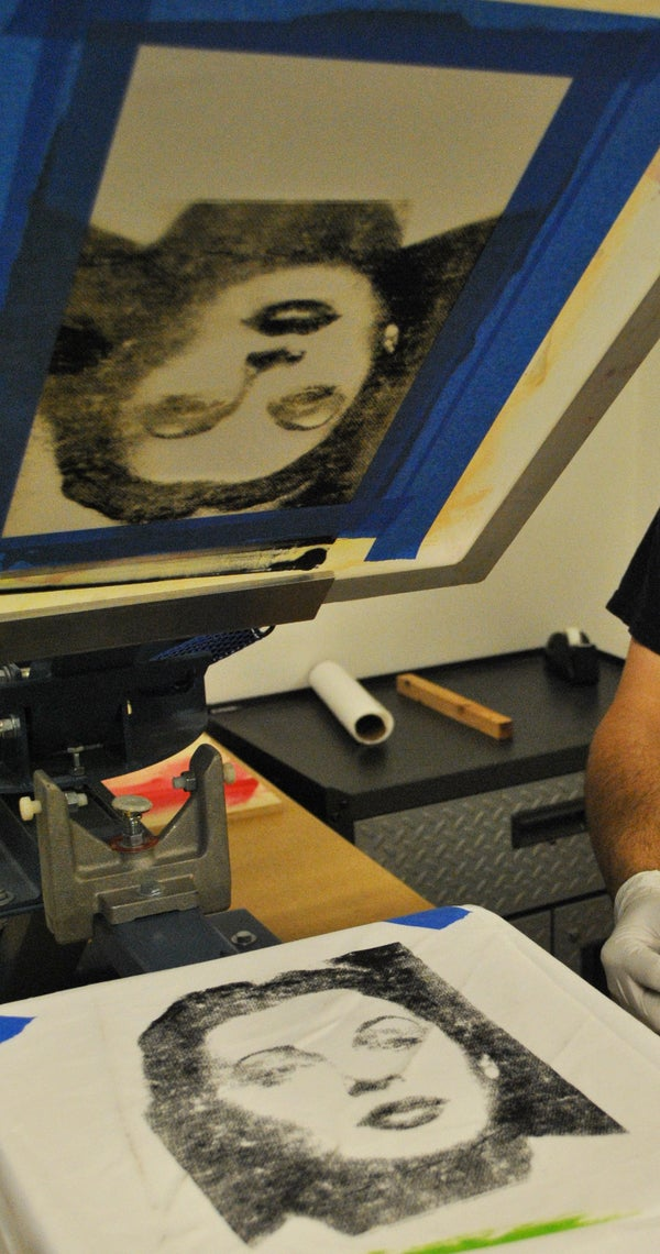 Photo Screen Printing Without Emulsion (laser Etched)