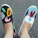 DIY Stranger Things Shoes