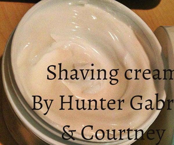 Shaving Cream on the Cheap