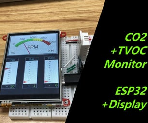 Monitor CO2 and TVOC With ESP32