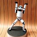 Paper Quilled Figurine | Stormtrooper (Star Wars)