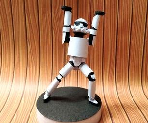 Paper Quilled Figurine   Stormtrooper (Star Wars)