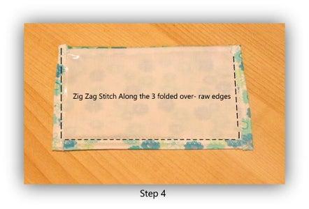Step 4 - Zig Zag'n