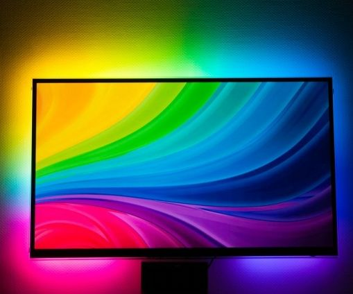 Ambilight system for every input connected to your TV. WS2812B Arduino UNO Raspberry Pi