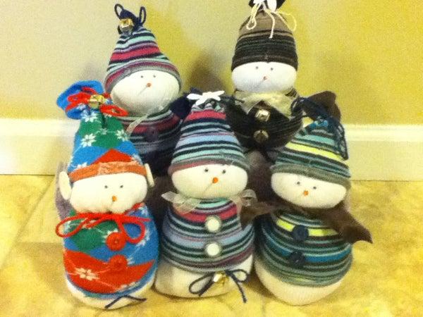 Super Dooper Sock Snowmen!!!