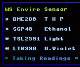 Pi Pico Environmental Sensing Workout