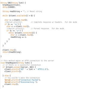 Arduino - Code