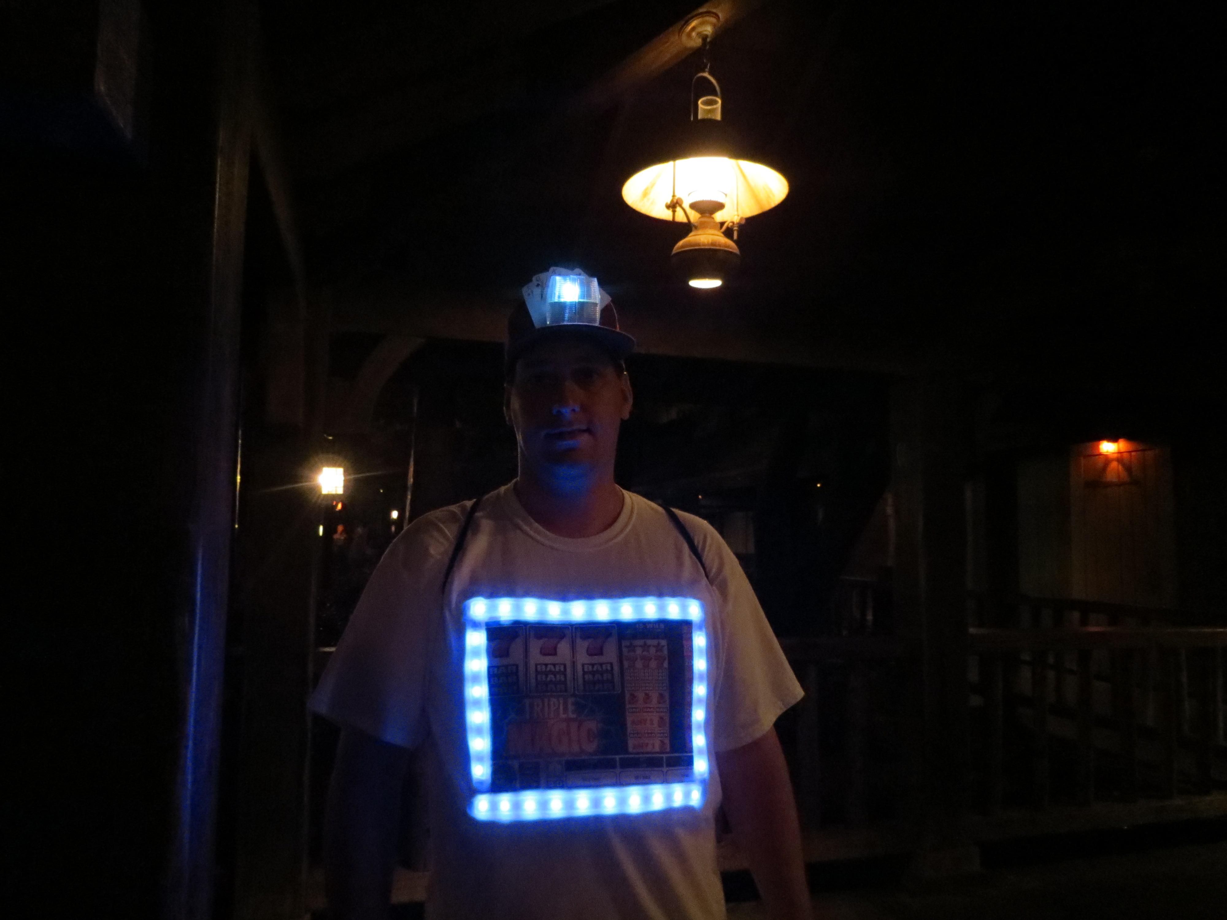 Led Slot Machine Costume