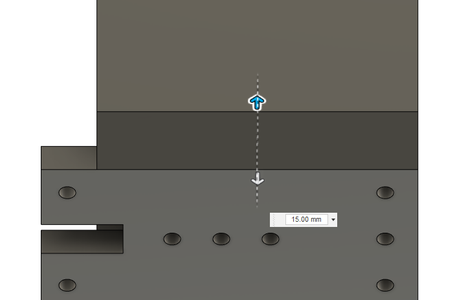Design Process - Stationary Fixture - Side Chamfers
