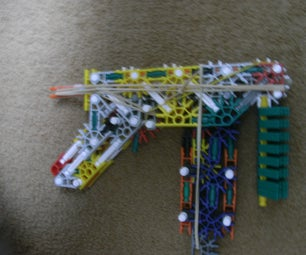 Knex Scorpion (smg) With Detachable Mag