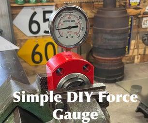 Simple DIY Force Gauge