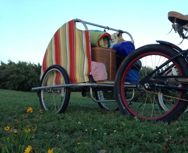 Park and Beach Bicycle Trailer