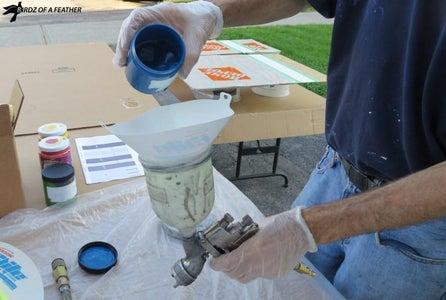 Cup Gun Spray Paint Tips