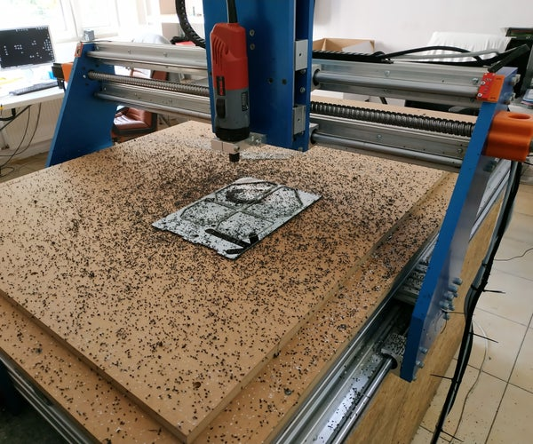 """DIY """"mostly Aluminium"""" CNC Router for Woodworking"""