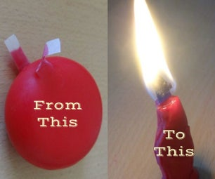 Make a Candle From Cheese