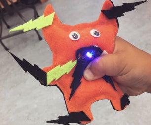 LED Felt Creature Plushie