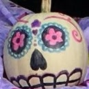Day of the Dead Pumpkin!