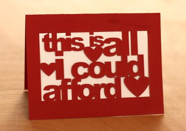 Make a Cut-Out Valentine Card