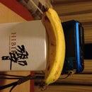 Bananas and Box Tripod for Long Exposures