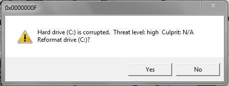 VBS File (C:) Drive Prank! Corrupted (C:) Drive