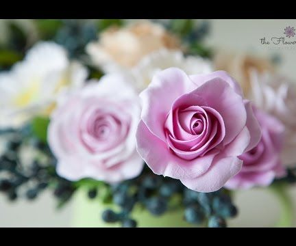 How to Make Rose Clay Flower