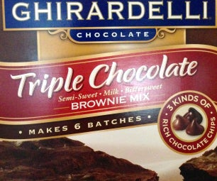 How to make Ghirardelli  Brownies