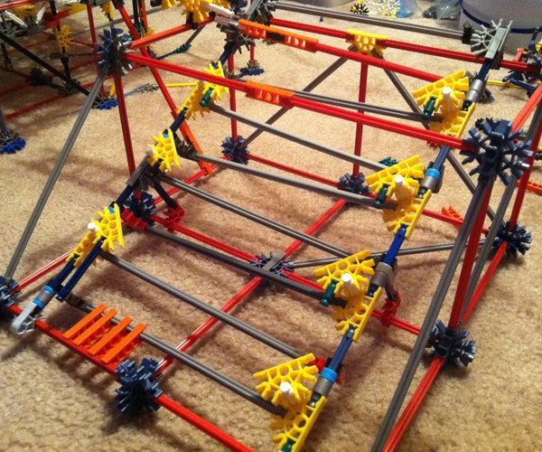 Knex Ball Machine Element ZigZag Stairs Made Simple