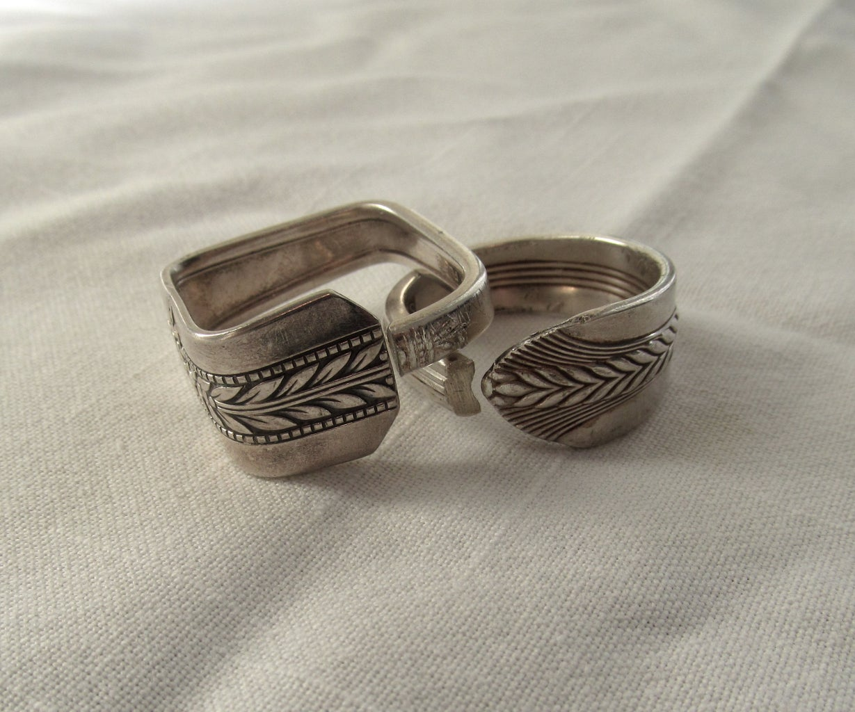 How to Make Napkin Rings From Silverware (Square or Round)