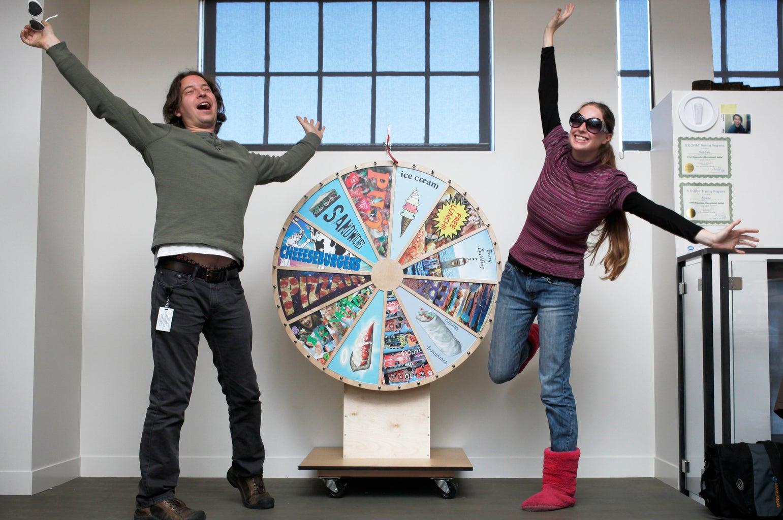 Lunch Decider Wheel