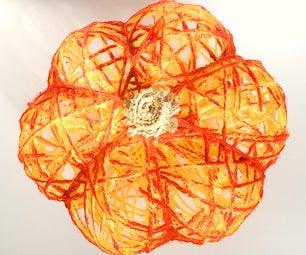 Fastest Way to Make Pumpkin From Yarn (Pumpkin-Shaped)