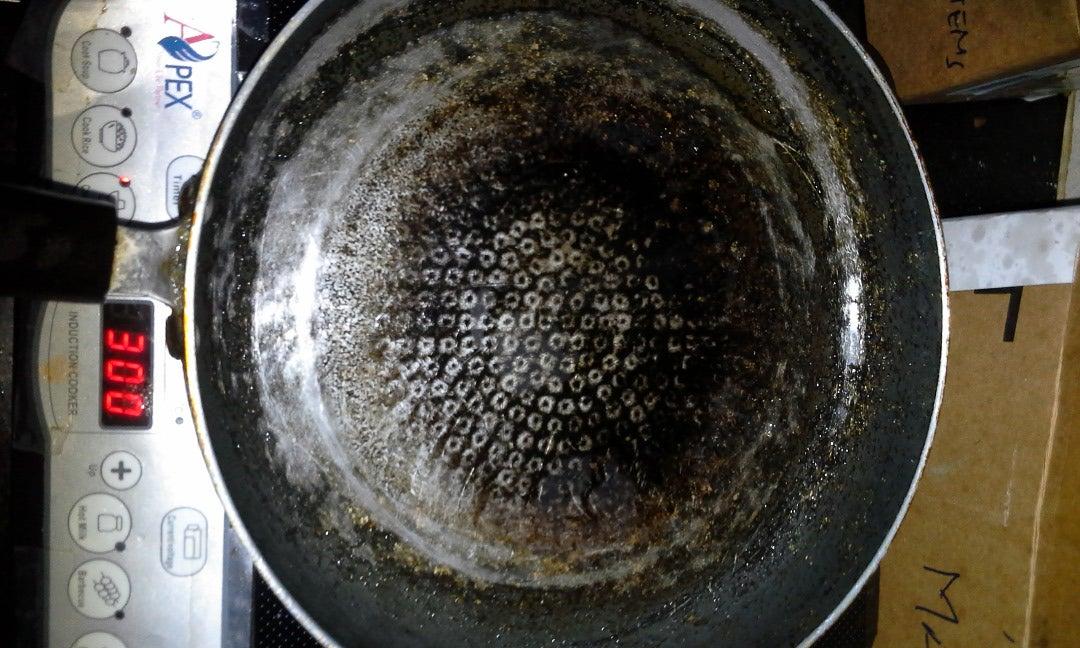 Take the Big Pan and Put Oil