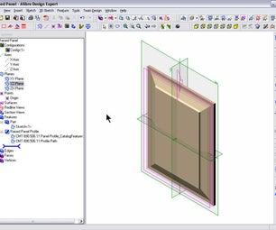 Raised Panel Using Sketch Catalog Feature