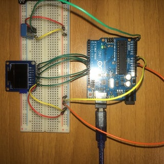 Arduino OLED Thermometer and Hygrometer With DHT11 for Beginners