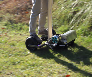Hoverboard Lawn Mower (Hovermower?)