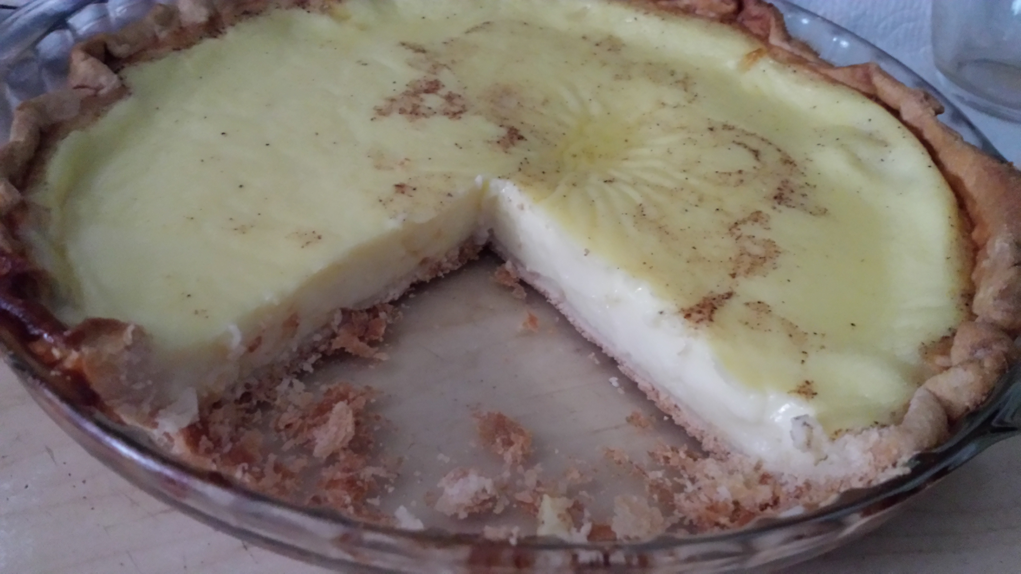 Great Grandma's Custard Pie