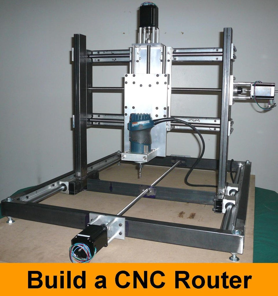 DIY CNC Router  40 Steps   Instructables