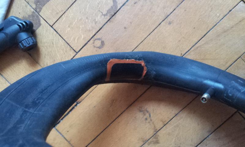 Bike Tube Repair