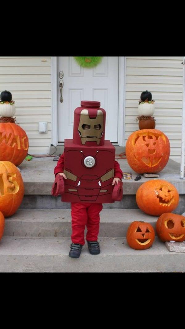 Iron Man Lego Costume