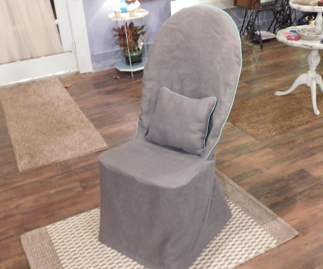 Dining Chair Slipcover Easy 9 Steps With Pictures Instructables
