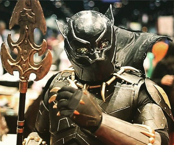 """How to Make a Marvel: """"Black Panther"""" Costume"""