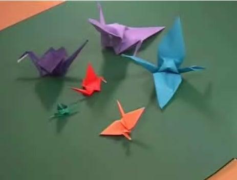 How to Fold an Origami Paper Crane (Orizuru)
