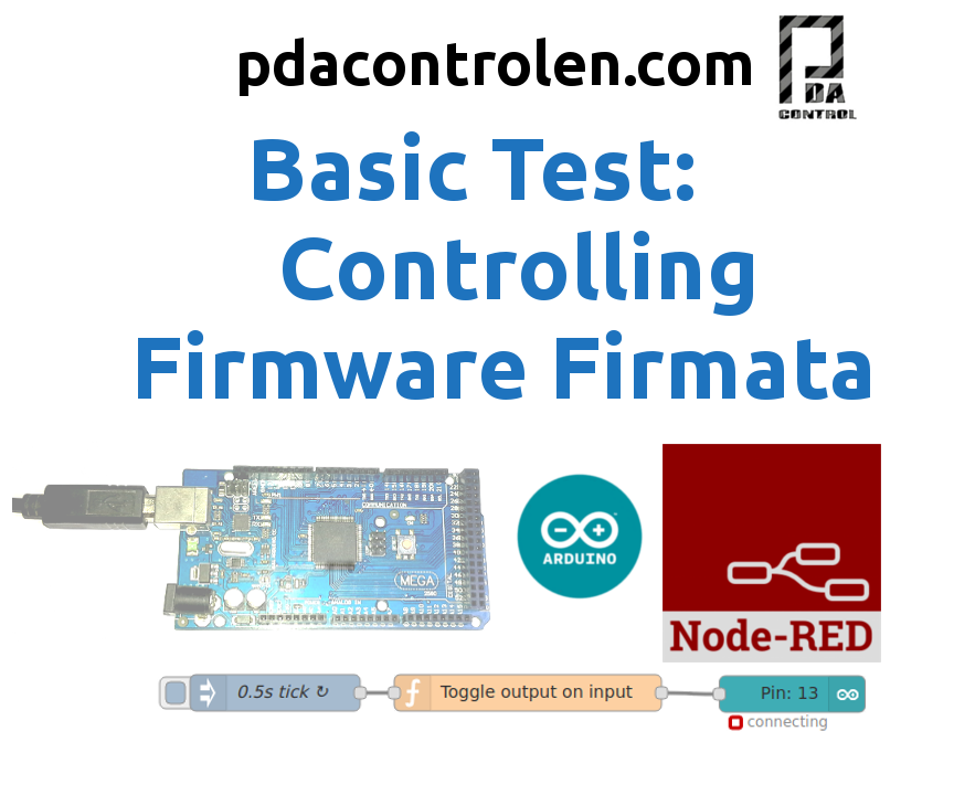 Controlling Arduino From Node-RED With Firmware Firmata IoT#