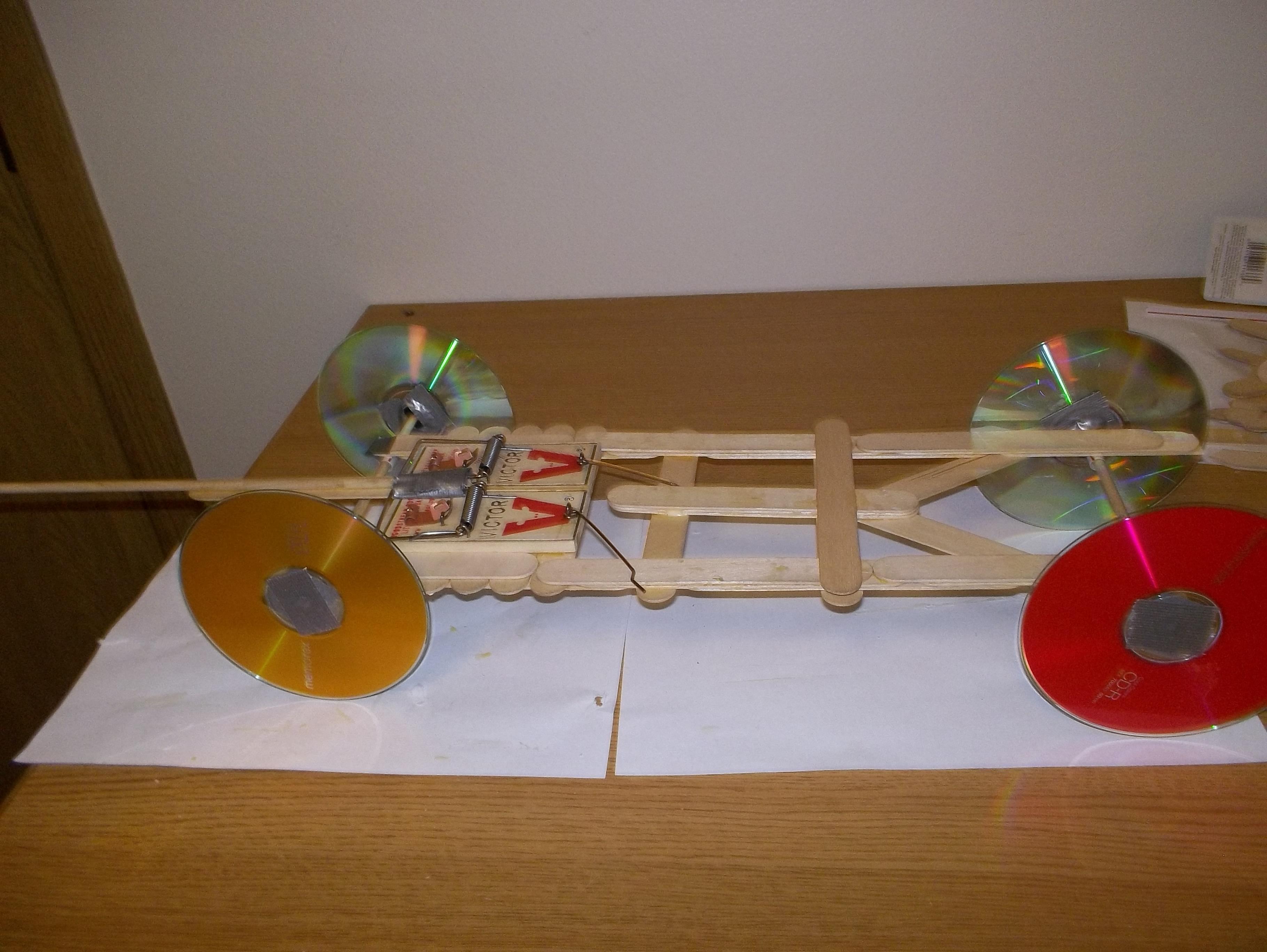 Long Distance Mousetrap Car