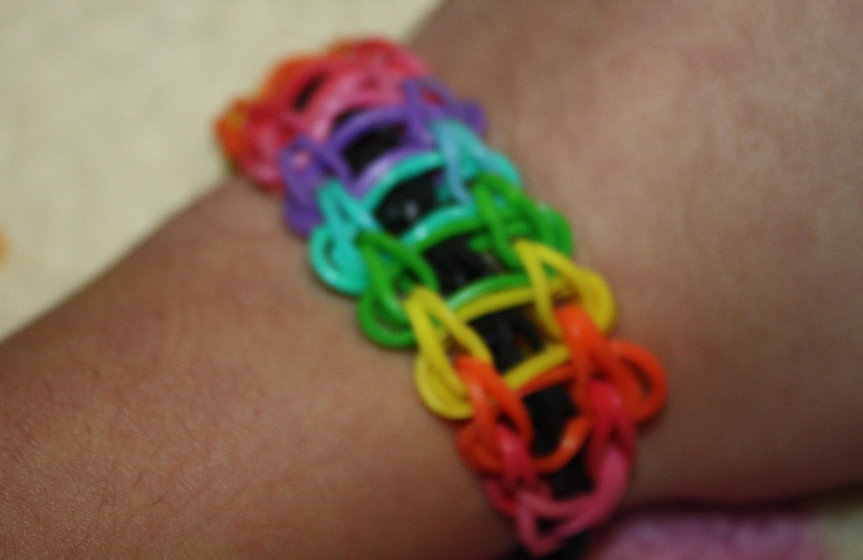 Rainbow Ladder Bracelet